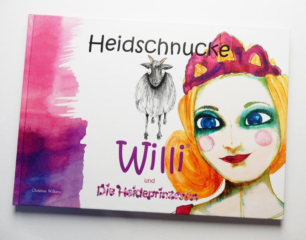 """Cover von """"Heidschnucke Willi und die Heideprinzessin von Christine Wilkens ISBN 978-3000542367"""