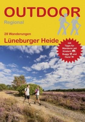 Cover Wanderführer Lüneburger Heide von Norbert Rother, Conrad Stein Verlag, 2. Auflage, ISBN 978-3-86686-553-2