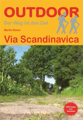 Cover Pilgerführer Via Scandinavica ISBN 978-3-86686-477-1