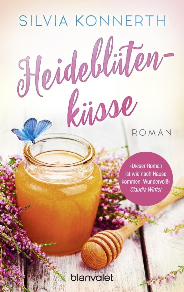 Cover: Heideblütenküsse - Roman von Silvia Konnerth