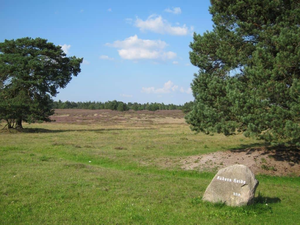 Hinweisstein Röders Heide in der Timmerloher Heide 23.08.2015