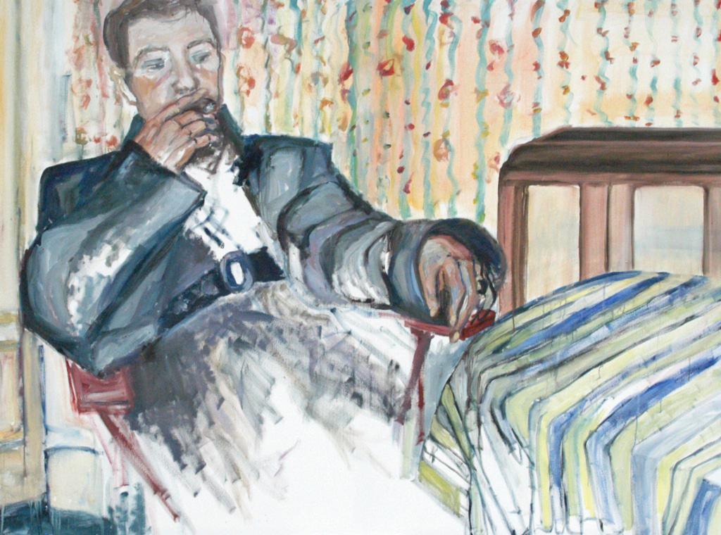 Der Vater als junger Mann Dietlind Horstmann-Köpper, 2019