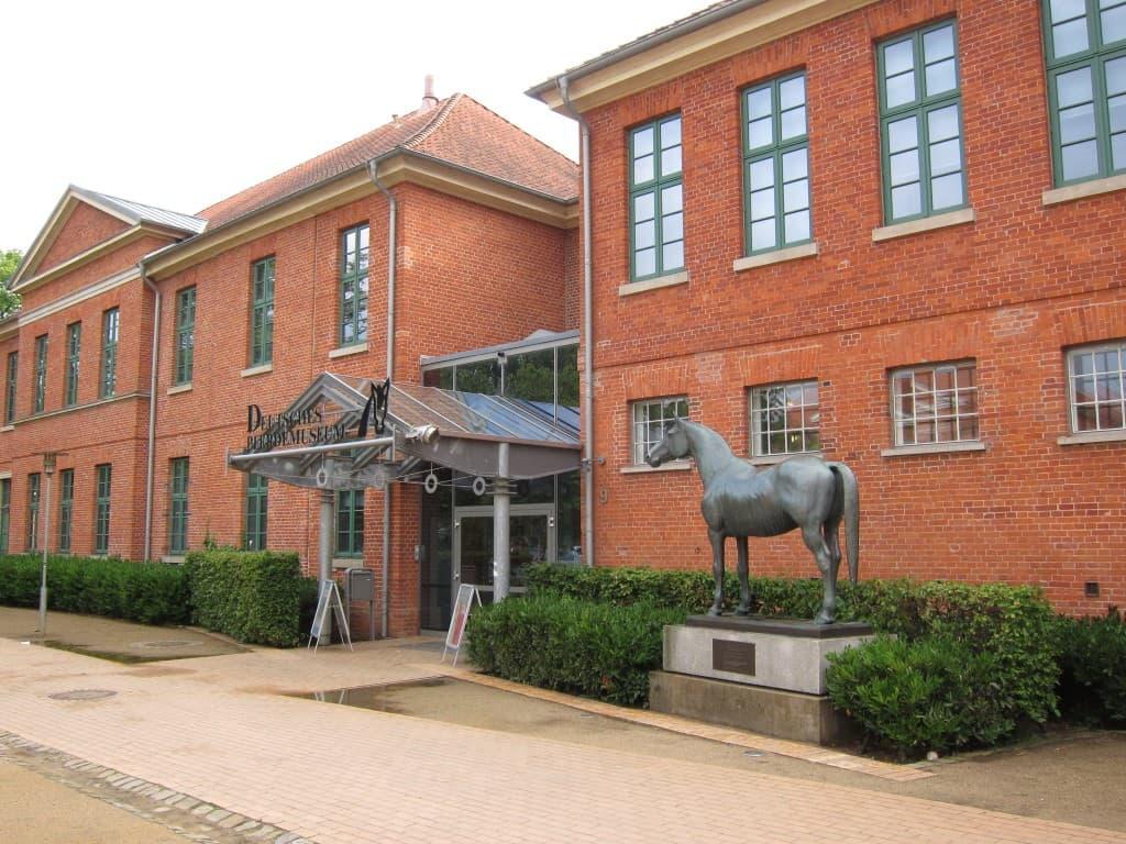 Eingangsbereich Dt. Pferdemuseum in Verden