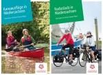 """Ebenfalls neu: Die Urlaubskarten """"Kanuausflüge"""" und """"Radurlaub"""". © TourismusMarketing Niedersachsen GmbH"""
