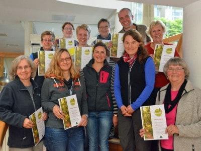 """Die neuen Bestandserfasser """"Qualitätswege Wanderbares Deutschland"""" für den Landkreis Rotenburg (Wümme)"""