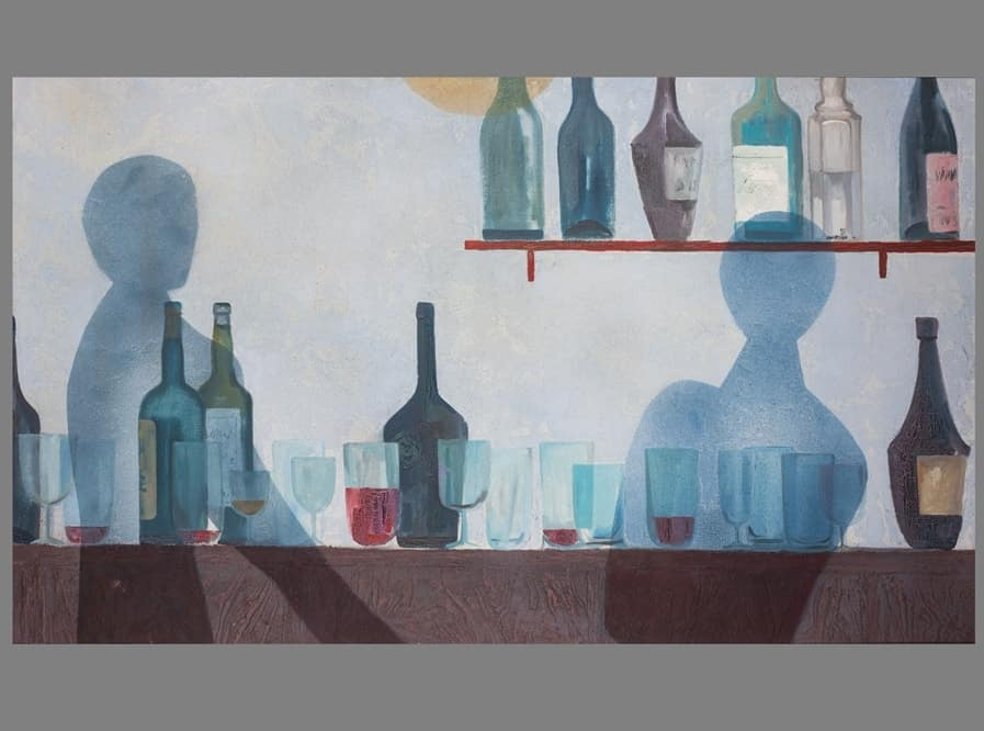 """Bar"", Eberhard Schlotter, 1957 Foto: Fotostudio Loeper, Celle"