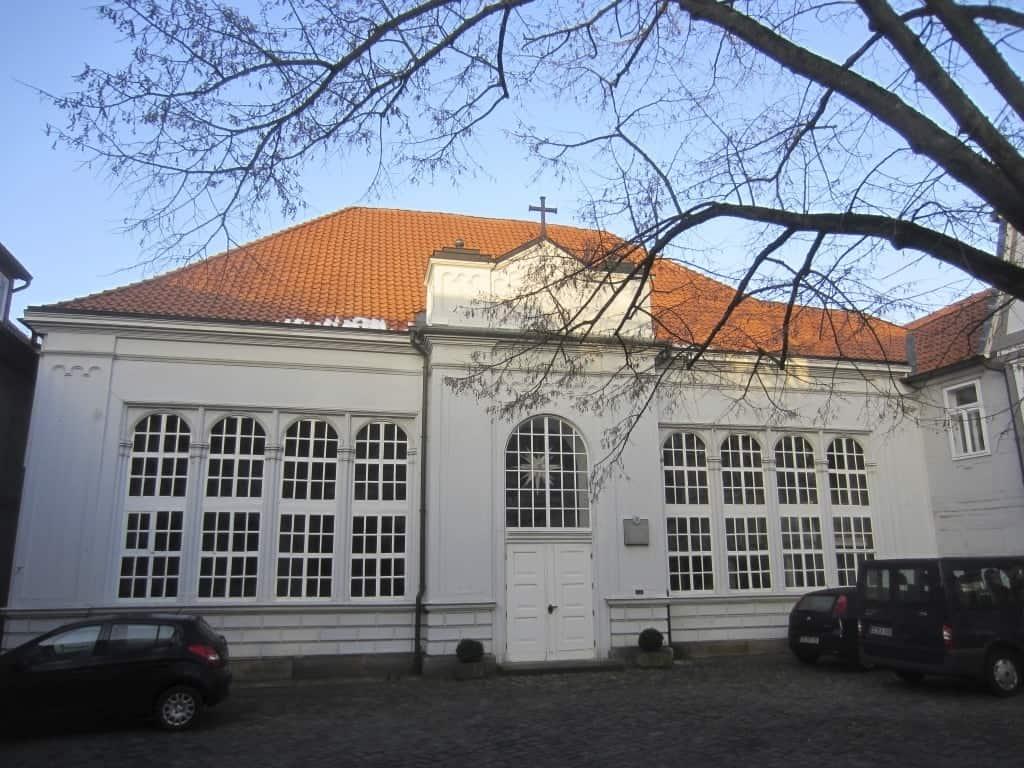 Ehemalige Hugenottenkirche in Celle  © Deutsche Stiftung Denkmalschutz/Bolz