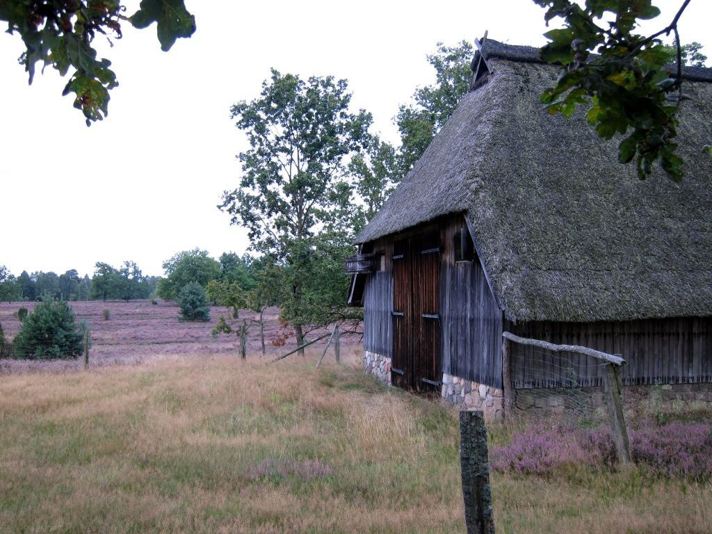Heidetaler Heide bei Niederhaverbeck: ehemaliger Schafstall