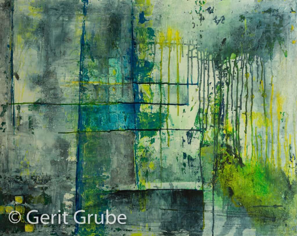 """Gemälde: """"Ein Wandel"""", 80 x 100 cm von Gerit Grube"""