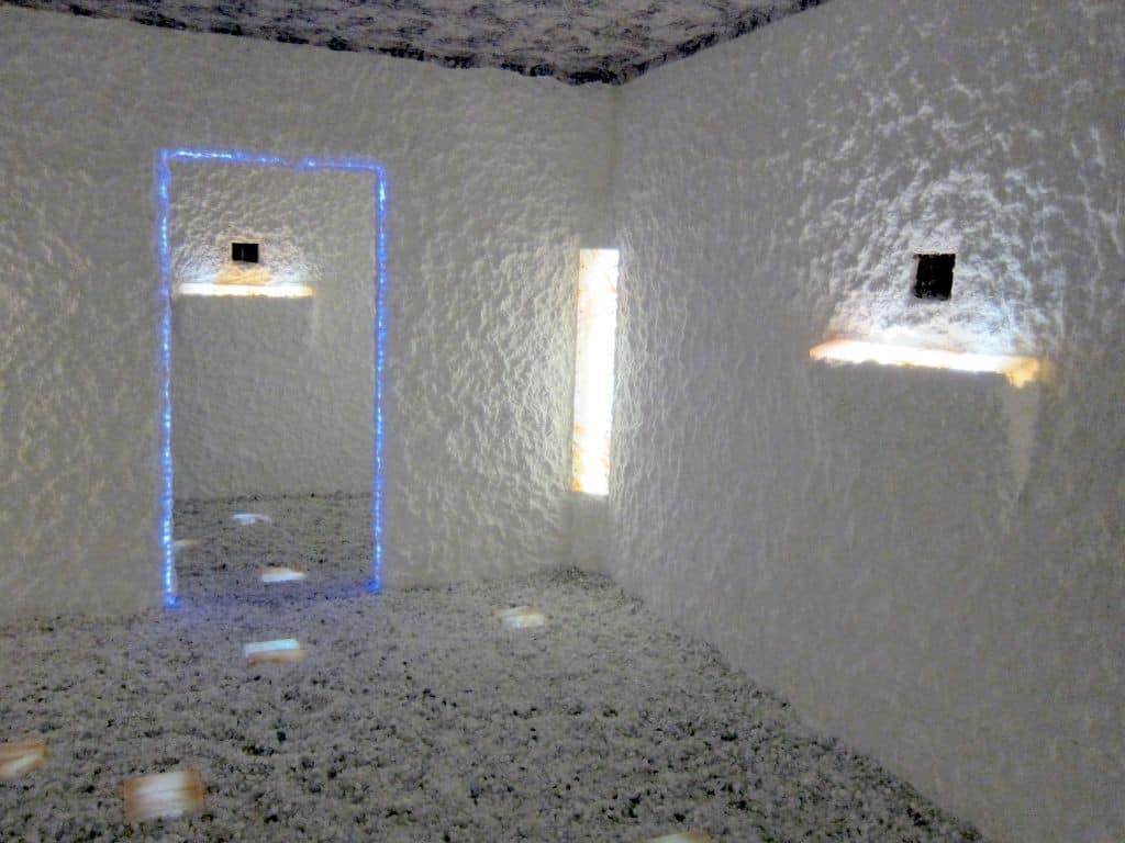 Im Inneren des Salzineums