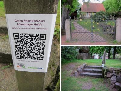 Green-Sport-Parcours für Ihre Fitness - 8-km-Parcours in Egestorf