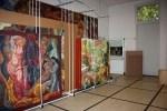 Blick in die große Halle des neuen Schaumagazins der Kunststätte Bossard