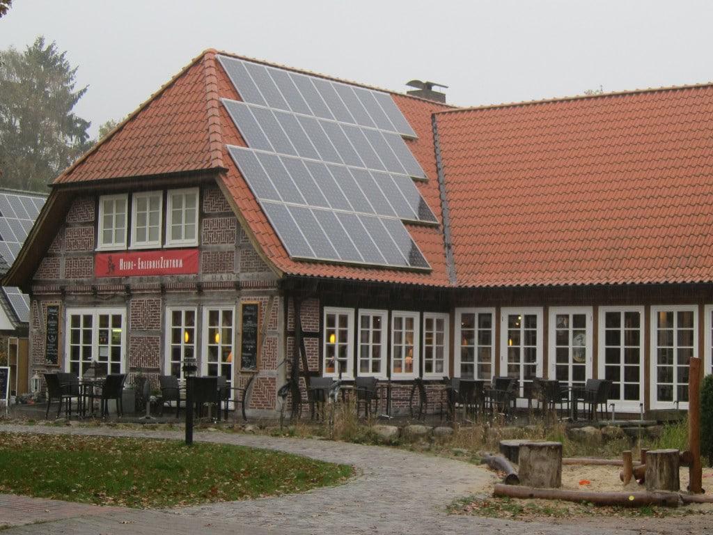 Heide-ErlebnisZentrum des Vereins Naturschutzpark in Undeloh in der Lüneburger Heide
