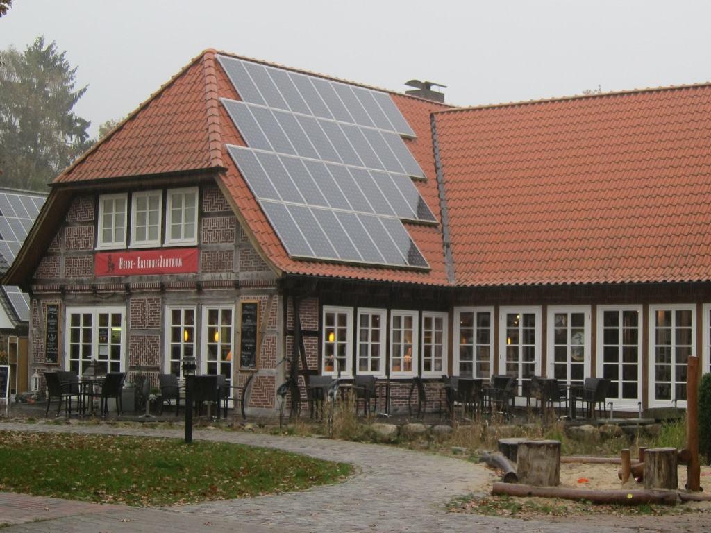 HeideErlebnisZentrum des Vereins Naturschutzpark in Undeloh in der Lüneburger Heide