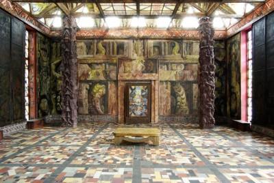 Kunsttempel: Hier können die Trauungen stattfinden. Blick auf den Zweiten Tempelzyklus, Foto: Petra Diehl, Hamburg