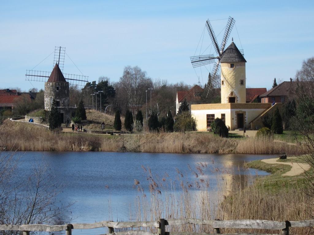 Mühlenmuseum Gifhorn: Mühlen aus der Provence und aus Mallorca