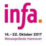 Logo infa 2017 Fachausstellungen Heckmann Hannover