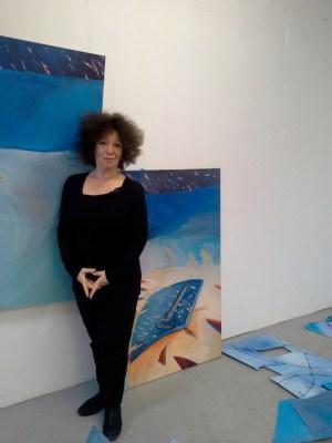 Die Künstlerin Inge-Rose Lippok