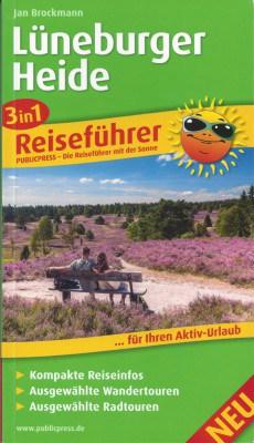 978-3899208276 3in1-Reiseführer für die Lüneburger Heide Jan Brockmann
