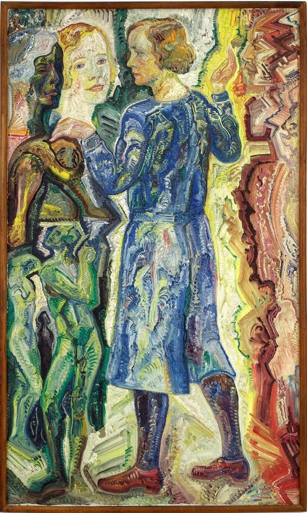 JB 1663, Johann Michael Bossard Die drei Gesichter meiner Frau, 1932 Foto: Kunststätte Bossard