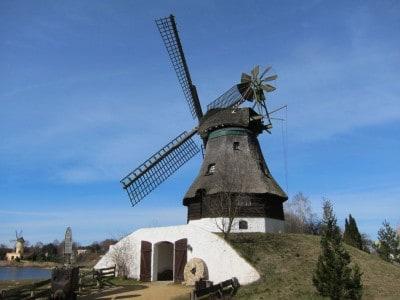 Kellerholländermühle im Mühlenmuseum in Gifhorn