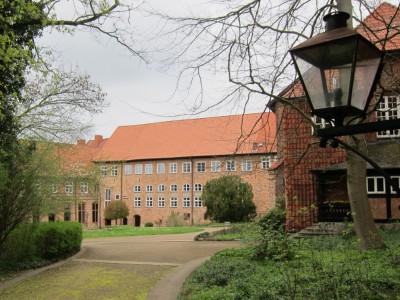Kloster Ebstorf - Innenhof mit Klostergebäuden