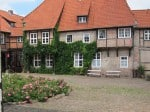 Heideklöster: Kloster Lüne in Lüneburg - Innenhof