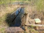 Kneippbecken im Tister Bauernmoor