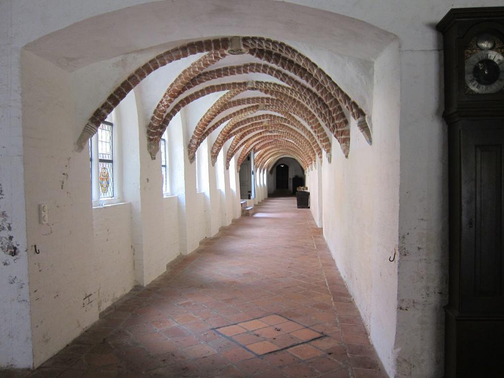 Das Taustabrippengewölbe im Kreuzgang von Kloster Lüne dient nur zur Dekoration.