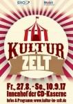 Anzeige - Teaser - Kultur im Zelt, CD-Kaserne, Celle