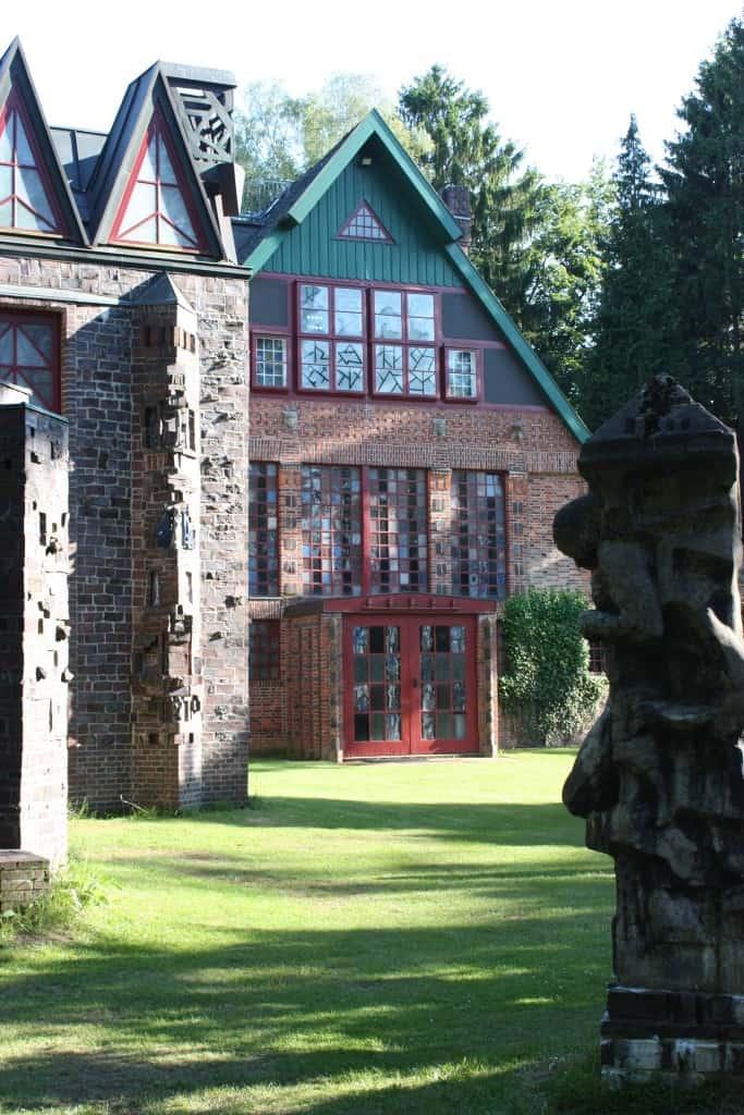 Wohn- und Atelierhaus Nordseite, Foto: Kunststätte Bossard