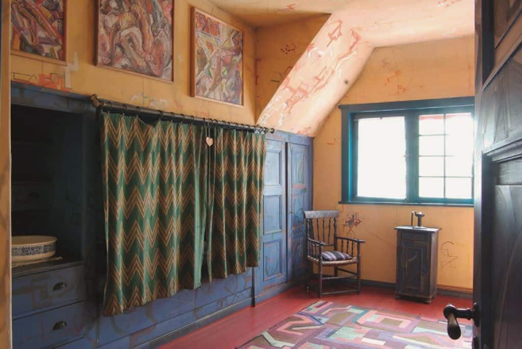 Gelbes Zimmer, Foto: Kunststätte Bossard