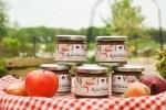 Feiert Premiere auf dem Landmarkt: LandPark Apfel-Chutney aus Äpfeln, frischen Cranberries, Zwiebeln, gelbem Curry, Rosmarin und Vanille.