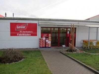 Fabrikverkauf der Lorenz Snack-World in Hankensbüttel