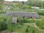 Luftaufnahme des Langhauses IIi Foto: Archäologisches Zentrum Hitzacker