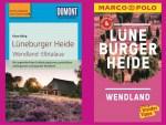 Aktuelle Reiseführer aus dem Verlag MAIRDUMONT für die Lüneburger Heide und das Wendland