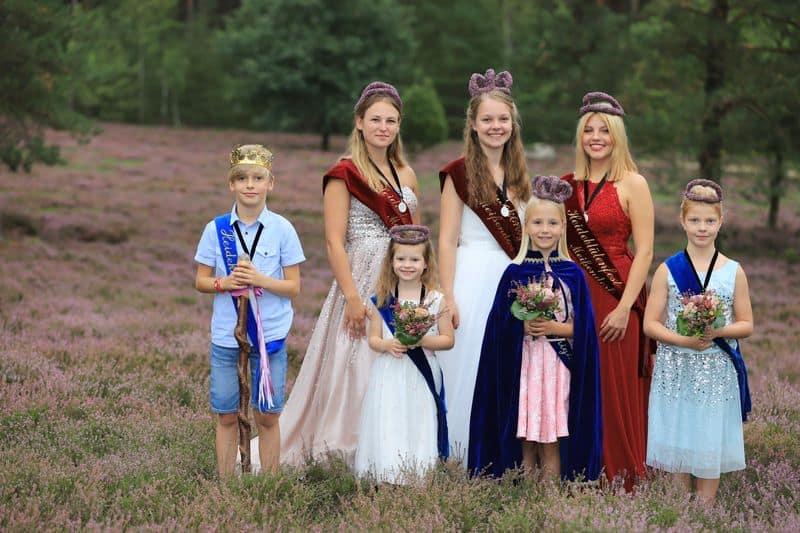 Die Majestäteten des Heideblütenfestes Meißendorf 2019
