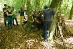 Schloo muss raus in den Niedersächsischen Landeswald