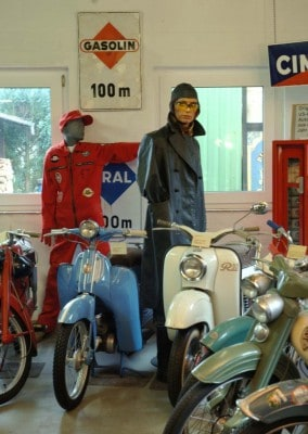 Sammlungsschwerpunkt Mopeds aus den 50er Jahren im ET Zweiradmuseum