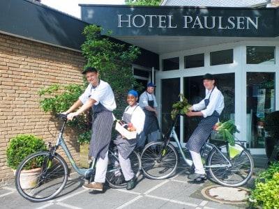 Ringhotel Paulsen in Zeven movelo-Verleihstation