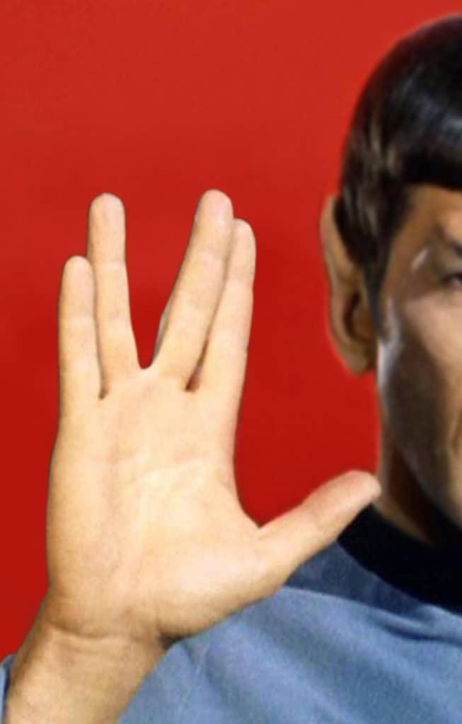 Mr. Spock greets you. Seok Lee