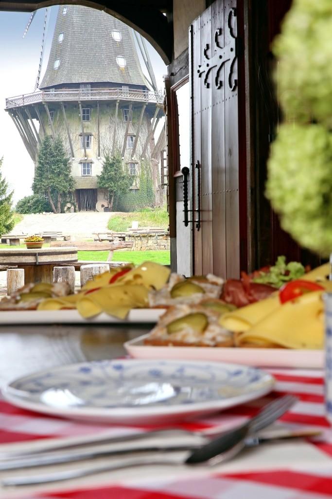 Genießen Sie Backwerk nach alter Tradition aus holzbefeuerten Steinbacköfen im Mühlenviertel im Mühlenmuseum in Gifhorn. Foto: Südheide Gifhorn