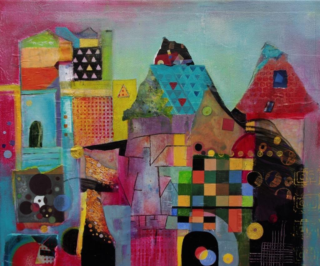 """""""Museum"""" Gemälde von Hanna Malzahn"""