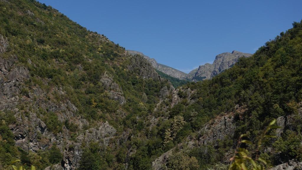 Die zweite Wanderung im Nationalpark Zentralbalkan war auf dem Byala Reka Eco-Trail.