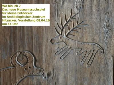 Neues Museumsuchspiel für kleine Besucher des Archäologischen Zentrum Hitzacker, Foto: Archäologisches Zentrum, Hitzacker
