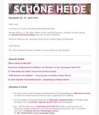 SCHÖNE-HEIDE-Newsletter