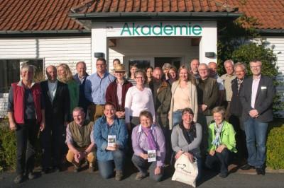 23 frischgebackene Zertifizierte Natur- und Landschaftsführer in der Lüneburger Heide