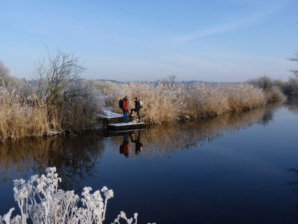 Die NORDPFADE begeistern auch im Winter. (c) TouROW