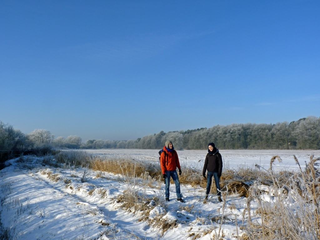 Eine gute Wanderidee auch in der kalten Jahreszeit: die NORDPFADE.