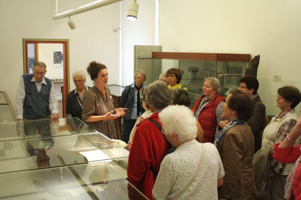 Bei den öffentlichen Führungen in der Ausstellung stehen wechselnde Themen im Mittelpunkt. © Bachmann-Museum Bremervörde
